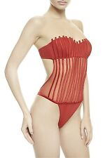 $862 La Perla swimwear one piece in red, sexy-elegant, size 42-44(8)