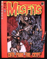 """MISFITS AUFKLEBER / STICKER # 37 """"CUTS FROM THE CRYPT"""" - PVC"""