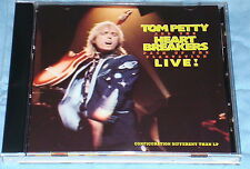 TOM PETTY & THE HEARTBREAKERS PACK UP THE PLANTATION LIVE ORIGINAL CD  1985