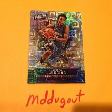 Andrew Wiggins #21 timberwolves Thick Hyper Plaid 4/10 Made 2016 Panini National