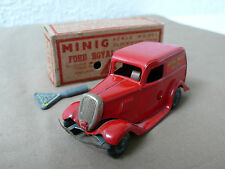 TRIANG MINIC TOYS FORD ROYAL MAIL VAN 1940s, NEAR MINT & BOXED