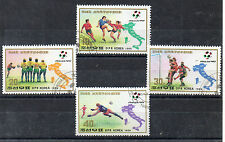 Corea Deportes Mundial de Futbol Italia 90 año 1989 (CQ-222)