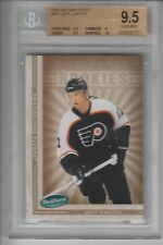 BGS 9.5 JEFF CARTER 2005/06 UD Parkhurst ROOKIE Card KINGS!
