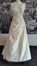 Designer Gown with Train (Ivory) Wedding, Beach Wedding, Ball etc, RRP £500+