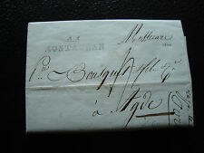 FRANCE - lettre ancienne montauban (27 pluviose 12) (cy24) french