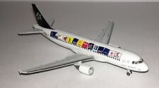 "GEMINI JETS AUSTRIAN A320-200 - EARLY ""STAR ALLIANCE"" LIVERY 1/400 SCALE"