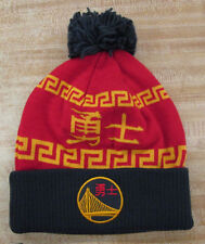 Golden State Warriors Adidas Chinese New Year Knit Stocking Hat Cap Beanie Curry