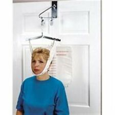 Drive Cervical Traction Set Over The Door Neck Back Head Support Kit 13004