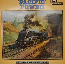 """PACIFIC TOWER - SOUNDS OF THE STEAM ENGINE 12"""" LP (W 164)"""