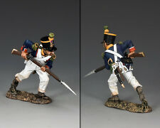 KING AND COUNTRY French Voltigeur Charging with Bayonet NA280