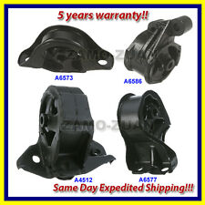 90-91 Acura Integra 1.8L Engine Motor & Trans. Mount Set 4PCS for Manual Trans.