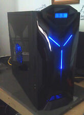 "NZXT Custom PC with Gaming Keyboard, Mouse, & 23"" Monitor w/ speakers HDMI 1080P"