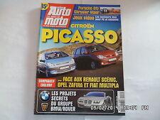 ACTION AUTO MOTO N°63 12/1999 CITROEN PICASSO PORSCHE 911 CHRYSLER VIPER    F31