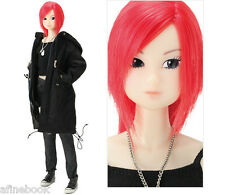Momoko Doll 'Midnight Crossing' red hair black trench coat Petworks NRFB in USA