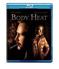 Body Heat (Blu-ray Disc, 2008)  William Hurt, Kathleen Turner  BRAND NEW