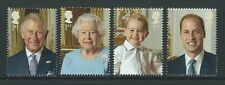 GREAT BRITAIN 2016 HM THE QUEEN'S 90th BIRTHDAY SET OF 4 EX PRESTIGE BOOK UM