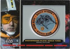 STAR WARS GALACTIC FILES PR-19 EMBROIDERED PATCH SNOWSPEEDER PILOT ROGUE THREE