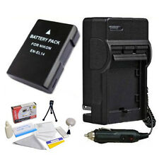 EN-EL14 Battery and Charger for Nikon D5300 D5200 D3100 D5100 D3200 D3300
