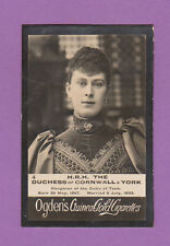 OGDENS  GUINEA  GOLD  -  H.R.H.  THE  DUCHESS  OF  CORNWALL  &  YORK  -  1901