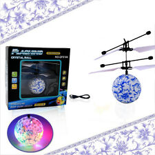 RC Flying Ball Drone Helicopter Ball Built-in Shinning LED Lighting Toy for Kids
