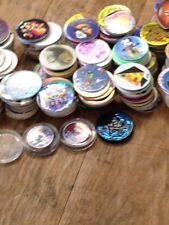 500 plus 1990s POGs & Slammers assorted Disney Goosebumps Cartoons Slammers