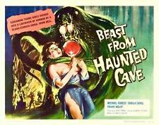 BEAST FROM HAUNTED CAVE Movie POSTER 22x28 Half Sheet Michael Forest Sheila