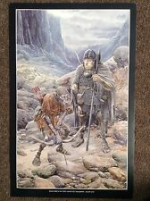Lord Of The Rings PRINT Fantasy Art Alan Lee JRR Tolkien TWO ORCS LAND SHADOWS