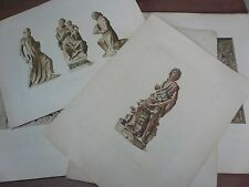 Collection Emile Gavet: 5 planches catalogue bas-relief et… World FREE Shipping*