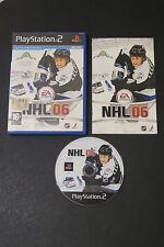PS2 : NHL 06 - Completo! Il miglior gioco di Hockey per PS2 ! Licenza ufficiale