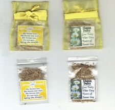 25 YELLOW BRIDAL SHOWER FAVORS WITH SHASTA DAISY SEEDS + POEM + FREE SHIP