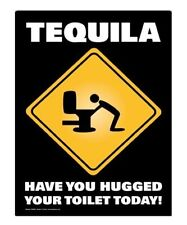 Funny Metal Sign Tequila Man Cave