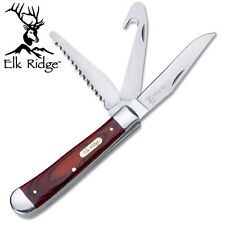 KNIFE COLTELLO ELK RIDGE 089 SURVIVOR SURVIVAL CHIUDIBILE FOLDING CACCIA CAMPING