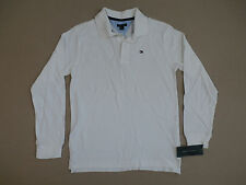 Tommy Hilfiger Boy's Long Sleeve Collar Shirt White Size Small (8/10) $29.50