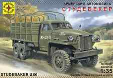 MODELIST 303547 US ARMY TRUCK STUDEBAKER US6 WWII SCALE MODEL KIT 1/35 NEW