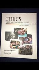 Ethics Theory and Contemporary Issues Eight Edition Concise