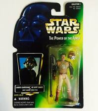 "HASBRO / KENNER STAR WARS 3.75INCH POWER OF THE FORCE "" LANDO CALRISIAN "" - RARE"