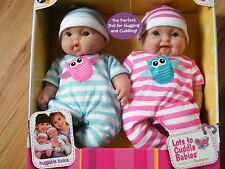 Puppe Zwillinge 33 cm