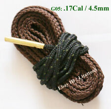 New Bore Snake Cleaner .17 Cal .177 .17HMR .17WMR & 4.5mm Rifle/Pistol Cleaning
