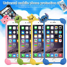 Universal All 4-6 Inches Phone Soft Silicone Phone Case Protective Covers Bumper