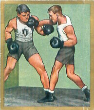 N°124 World War German Soldiers boxing Boxe Reichswehr Germany WWI 30s CHROMO