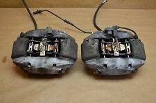07-09 W209 MERCEDES CLK350 FRONT BREMBO SPORT 4 PISTION BRAKE CALIPERS OEM USED