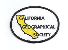 **CALIFORNIA GEOGRAPHICAL SOCIETY PATCH**