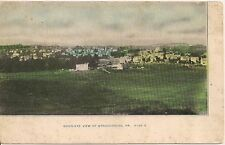 Birds Eye View of Stroudsburg PA Postcard