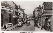Wellingborough Silver Street unused RP old pc Masons