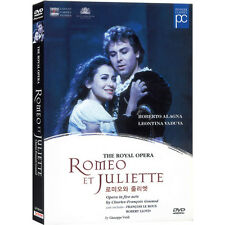 The Royal Opera: Romeo et Juliette (DVD,All,New,Keep Case)