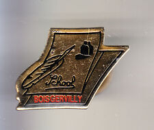 RARE PINS PIN'S .. ART LIVRE PRESSE ECRITURE PLUME STYLO ECOLE BOISGERVILLY ~CK