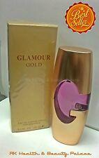 GLAMOUR GOLD 3.3 OZ EAU DE PARFUM VERSION OF DESIGNER GUESS, WITH POUCH!