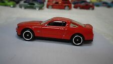 2009 Hot Wheels Red 2010 Ford Mustang GT New Model Custom Real Riders