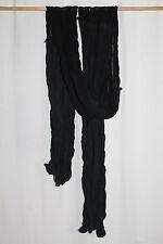 cocon.commerz PRIVATSACHEN  Crash Schal aus Seide und ECOKATTUN  in schwarz