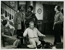 "Carroll O'Connor Rob Reiner All In The Family Original 7x9"" Photo #K2672"